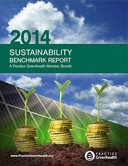2014 Practice GreenHealth Sustainability Report Image